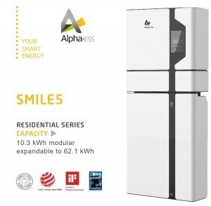 Alpha-ESS Smile5 Solar Battery
