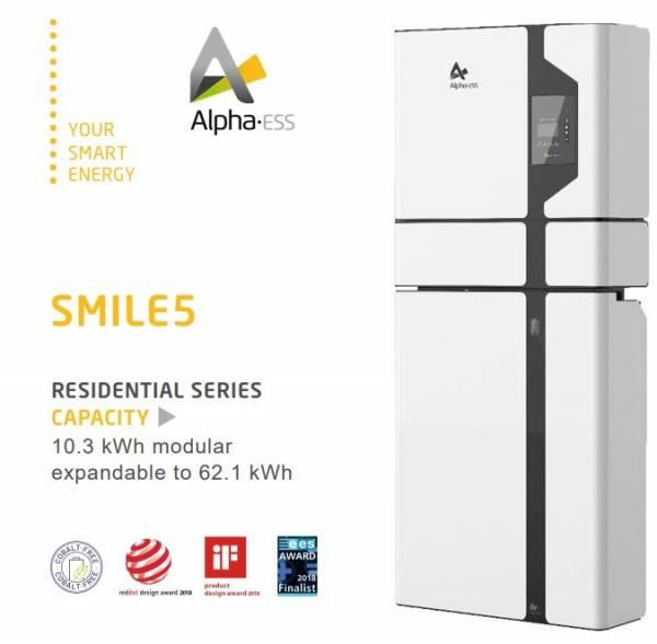 Alpha-ESS Smile5 Solar Battery